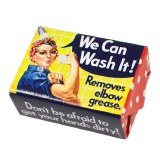 Foam Sweet Foam Rosie We Can Do It Soap Bar