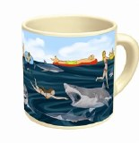 Disappearing Shark Mug