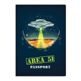 Area 51 Passport Pocket Notebook