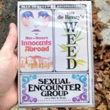 Alex De Renzy 3 Documentaries Weed Innocents Abroad Sexual Encounter Group DVD