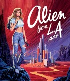 Alien From LA Blu ray