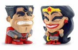 FCBD 2019 Teekeez Red Son Superman Wonder Woman Vinyl Figure 2 Pack