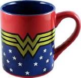 Wonder Woman Wraparound Logo Stars 14oz Laser Print Mug