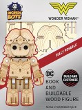 Incredibots Wonder Woman Book/Wood Figure Set