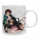 Demon Slayer Tanjiro and Nezuko Snow 11oz Mug