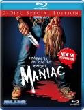 Maniac 2 Disc 4K Restoration Blu ray