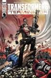 Transformers Vs Terminator #1 Cvr B Milne