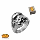Star Wars Stormtrooper 3D Ring Size 6
