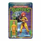 Teenage Mutant Ninja Turtles ReAction April O' Neil Action Figure