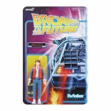 Back to the Future ReAction Marty McFly Action Figure