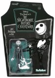 Nightmare Before Christmas Jack Skellington and Zero ReAction Figure