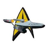 Star Trek Original Series Enterprise Funky Chunky Magnet