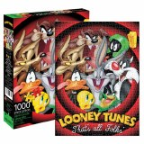 Looney Tunes That's All Folks 1000 Piece Puzzle