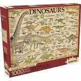 Smithsonian: Dinosaurs 1000pc Jigsaw Puzzle by Aquarius