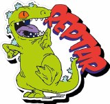 Rugrats Reptar Chunky Magnet