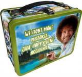 Bob Ross Happy Accidents Tin Lunch Box