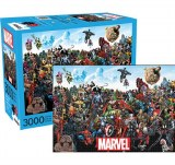 Marvel Characters 3000 Piece Puzzle