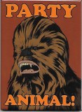 Star Wars Chewbacca Party Animal Magnet