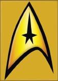 Star Trek Captain Logo Magnet