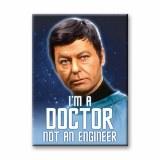 Star Trek McCoy Quote Magnet