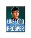Star Trek Live Long and Prosper Magnet