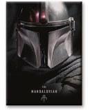 Star War Mandalorian Black Magnet