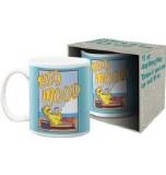 Sesame St Big Bird Big Mood 11 oz Mug
