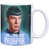 Star Trek Spock Live Long 11 oz Mug