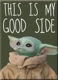 Star Wars Mandalorian Child Good Side Magnet