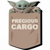 Star Wars The Mandalorian The Child Precious Cargo Magnet Multi-Color
