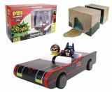 Batman TV Series Batmobile Batman and Robin Pinmate Set