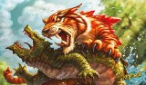 Keyforge Mighty Tiger Playmat