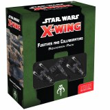 SW X-Wing Fugitive and Collaborators Squadron Pack 2nd Edition