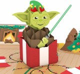 LovePop Star Wars Yoda Present Greeting Card