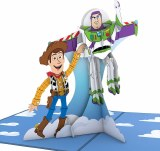 LovePop Pixar Toy Story Woody & Buzz Greeting Card