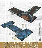 Harry Potter Miniatures Adventure Game Ministry of Magic Prophecy Room Gameboards