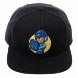 Mega Man Core Black Snapback Cap