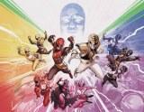 Mighty Morphin Power Rangers #50 Foil Wraparound Var