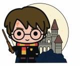 Harry Potter Charm Hogwarts Harry Pin
