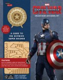 Incredibuilds Captain America Deluxe Book And Model Set