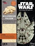 Incredibuilds Millenium Falcon Deluxe Book And Model Set