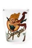 Toon Tumblers DC Bombshells Supergirl Shot Glass