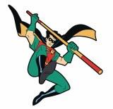 Batman The Animated Series Robin Die Cut Magnet
