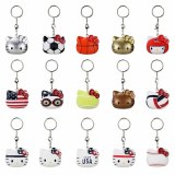 Hello Kitty X Team USA Vinyl Boxed Keychain