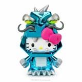 Hello Kitty Kaiju Kitzilla Frost Boxed 3 In Vinyl Figure