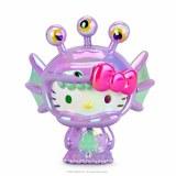 Hello Kitty Kaiju Aquados Violet Boxed 3 In Vinyl Figure