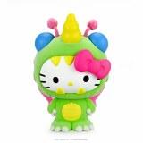 Hello Kitty Kaiju Unibee Green Boxed 3 In Vinyl Figure