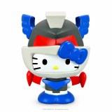 Hello Kitty Kaiju Mechazoar Knight Boxed 3 In Vinyl Figure