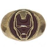 Iron Man Brushed Helmet Ring Size Large - 9.5