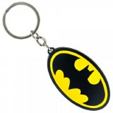 Batman Metal Logo Keychain